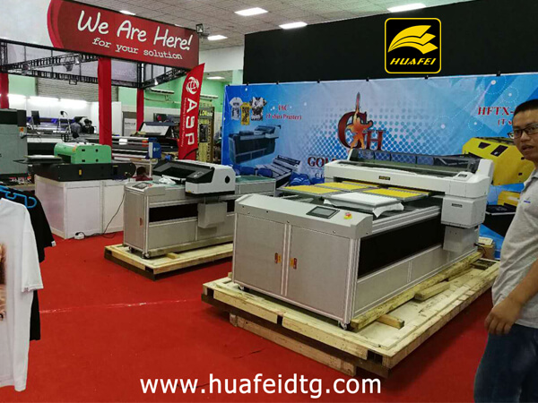 One of Huafei DTG Printer's reseller will attend the First & the Largest Digital Inkjet Printing Sign EXPO in Myanmar (2017).