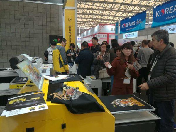 DTG printer in ShanghaiTEX