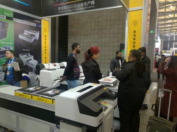 direct to garment Printer in ShanghaiTEX
